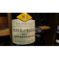 GEWURZTRAMINER HUBER ET BLEGER BLANC 2010