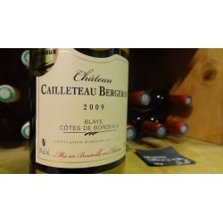 BLAYE  CHATEAU CAILLETEAU BERGERON TRADITION ROUGE 2009