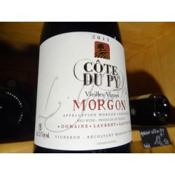 MORGON COTE DU PY LAURENT GAUTHIER ROUGE 2011