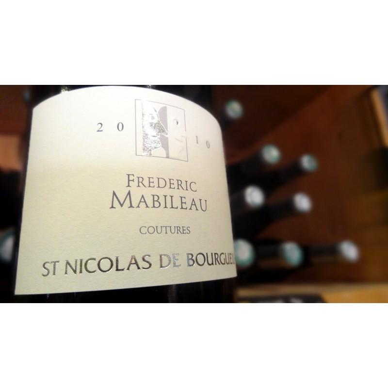 ST NICOLAS DE BOURGUEIL LES COUTURES  FREDERIC MABILEAU ROUGE 2011