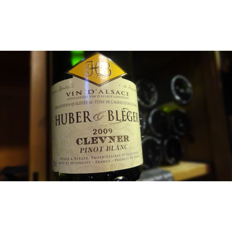 CLEVNER PINOT BLANC HUBER ET BLEGER BLANC 2008