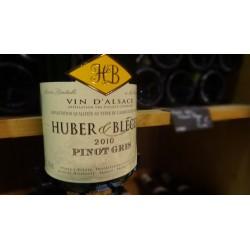 PINOT GRIS HUBER ET BLEGER BLANC 2010